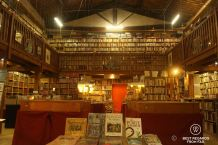 The treasure of Le Somail: the bookstore, Canal du Midi, France