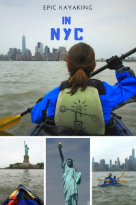 Kayaking - NYC - Pinterest Pin