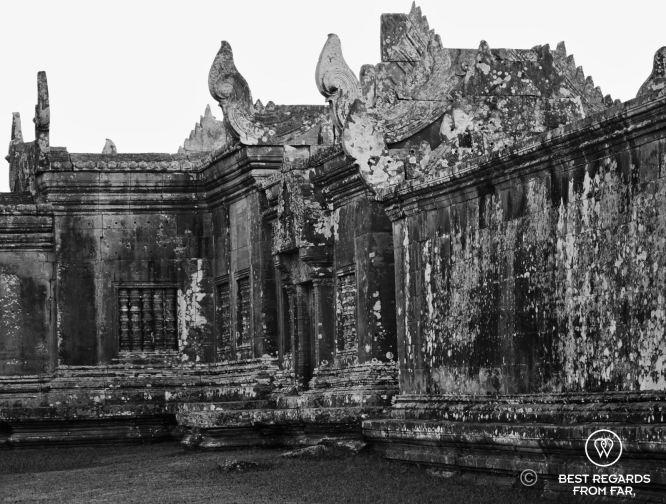 Inside Preah Vihear, Cambodia