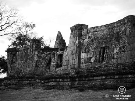 Ancient walls of Preah Vihear, Cambodia