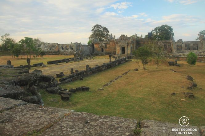The lost temple grounds of Preah Vihear, Cambodia