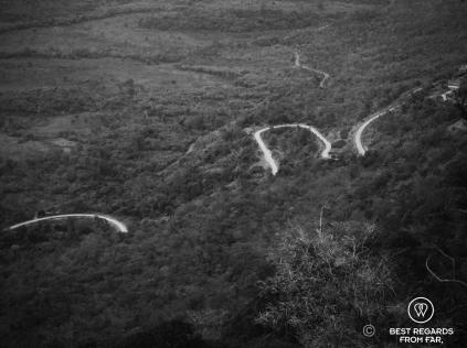The recent road to Preah Vihear, Cambodia