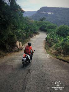 The steep road to Preah Vihear, Cambodia