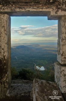 View on Cambodia from the temple Preah Vihear, Cambodia