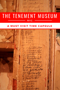 The tenement museum - Pinterest Pin - NYC