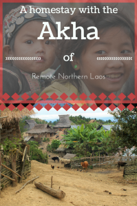 Akha trekking Northern Laos PIN