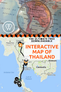Interactive map Thailand PIN