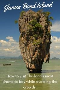 James Bond Island, Thailand PIN