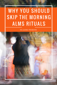 Morning alms rituals, Laos PIN