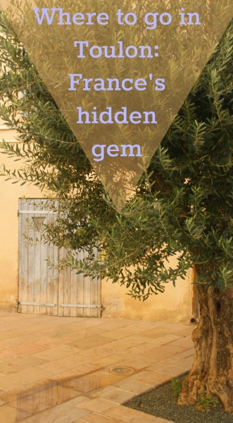 Pin referring to the hidden gems of Toulon article