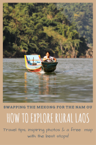 Traveling the Nam Ou River Laos PIN