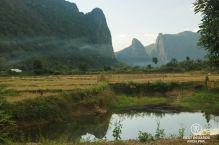 Mountain biking around Vang Vieng, Laos