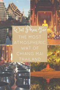 Wat Phan Tao, Chiang Mai, Thailand PIN