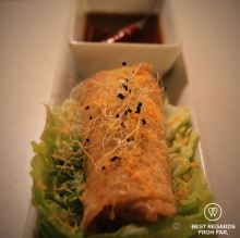 Springroll with a twist, Balius Bar, Poble Nou, Barcelona