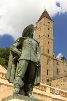 D'Artagnan, the son of Gascony, Auch, France