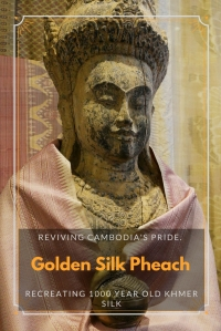 Golden silk Cambodia PIN