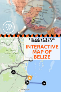 Interactive map Belize PIN