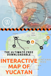 Interactive map Yucatan PIN