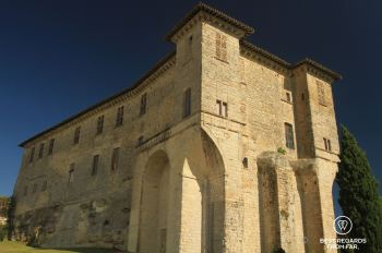 The Lavardens castle, Gascony, France