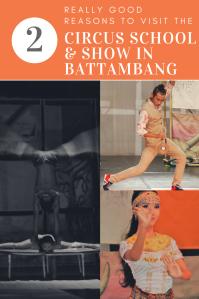Phare circus, Battambang, Cambodia PIN