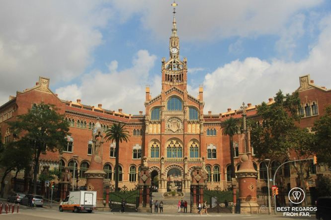 The Sant Pau hospital, Barcelona