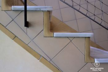 Rounded corners to improve the hygiene of the Sant Pau hospital, Barcelona