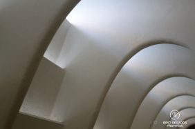 The attic at Casa Batlló, Barcelona