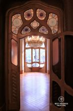 The noble floor of Casa Batlló, Barcelona