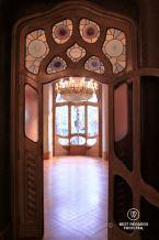 The noble floor of Casa Batlló, Barcelona