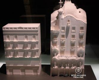 Casa Batlló before and after Gaudí, Barcelona