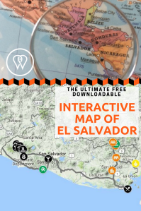 Interactive map El Salvador PIN