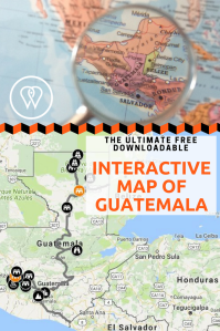 Interactive map Guatemala PIN