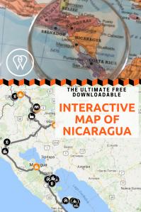 Interactive map Nicaragua PIN