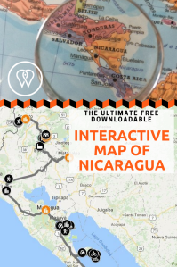 Interactive Map Nicaragua Best Regards From Far - Map nicaragua