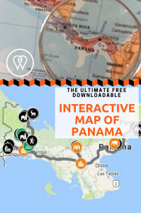 Interactive map Panama PIN