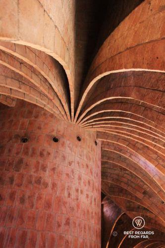 The attic of La Pedrera, Barcelona