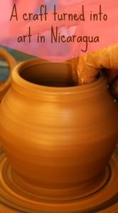 Nicaragua, Pottery PIN