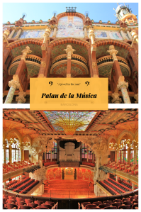 Palau de la Musica PIN