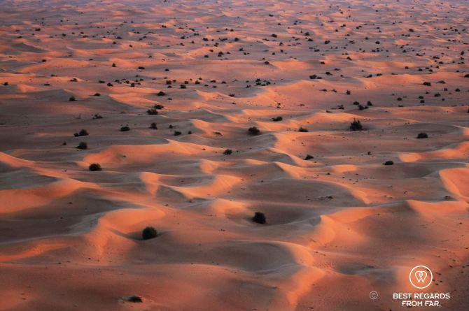 Paramotor desert sunrise6