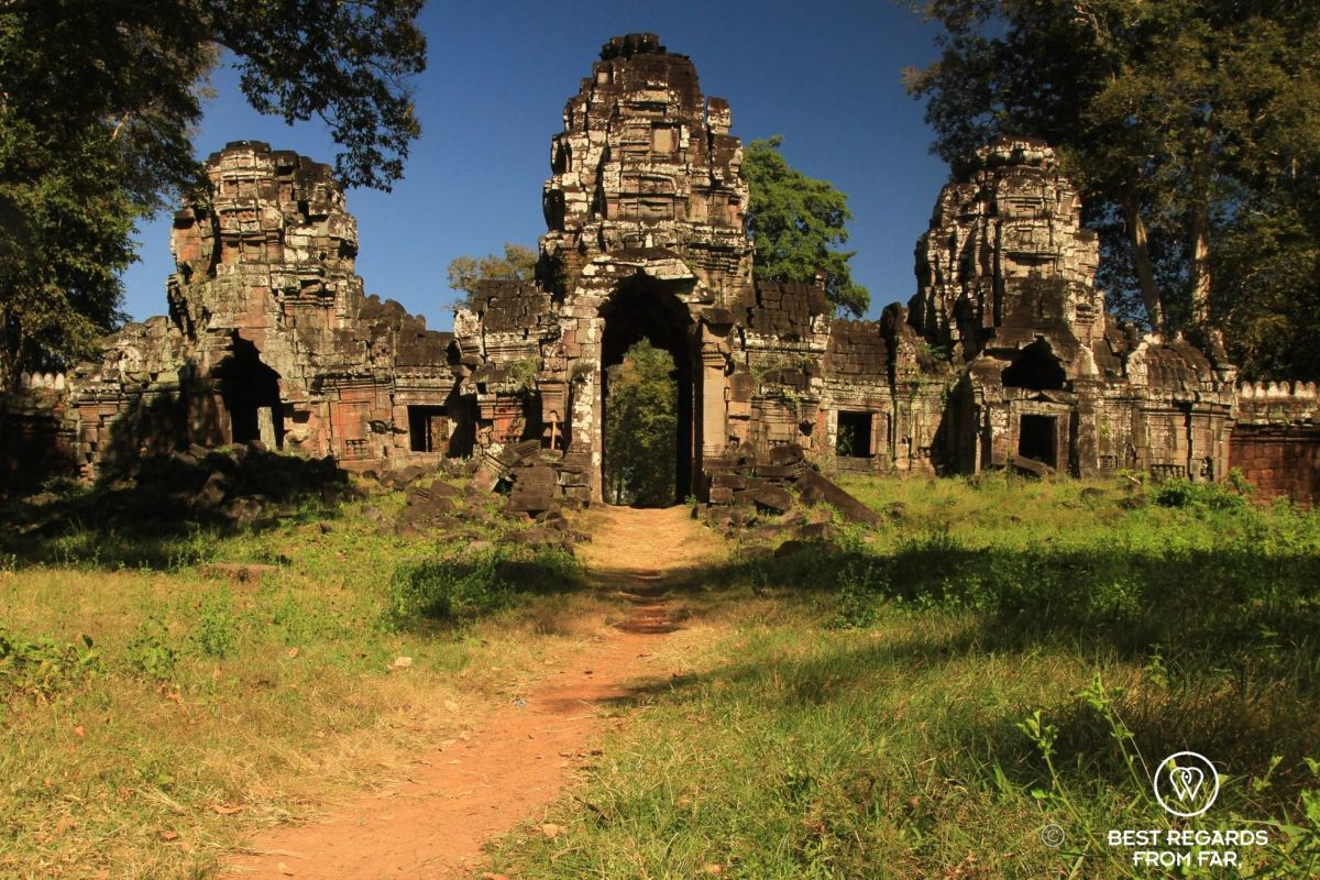 An adventure to Cambodia's most secret & remote temple: Preah Khan