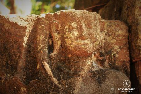 Prasat Preah Damrei, Preah Khan temple, Cambodia