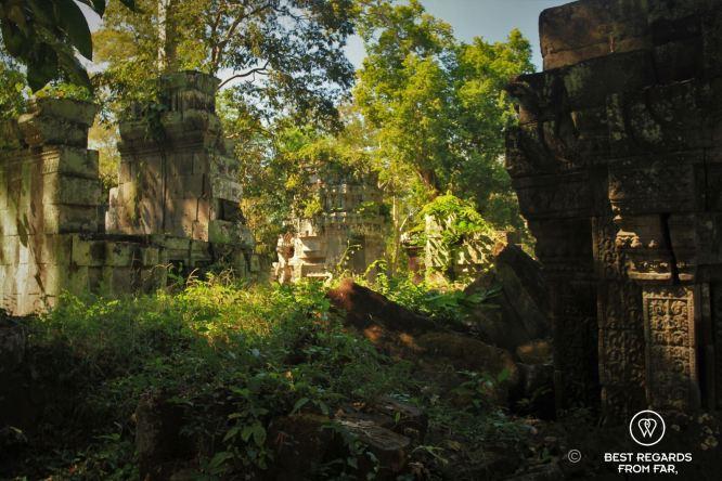 Prasat Bakan, Preah Khan temple, Cambodia