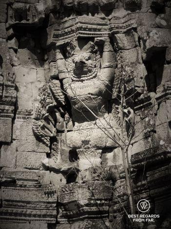 Preah Thkol, Preah Khan temple, Cambodia