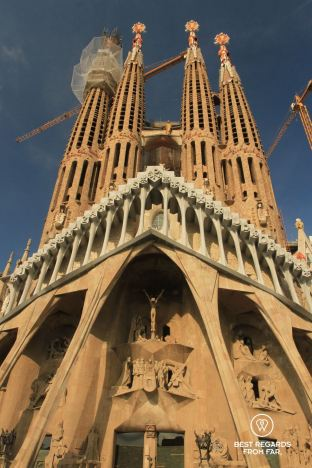 The Passion Façade, La Sagrada Familia, Barcelona