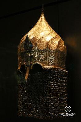 Turban helmet, Turkey, 1450-1500, Louvre Abu Dhabi, UAE