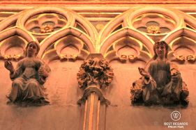 Detail of the Cathedral of Santa Eulalia, Barcelona