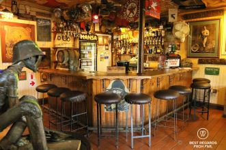 Johnny's pub (also known as the Vine), a must visit in Pilgrim's Rest, South Africa
