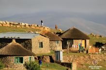 Early morning in Libibing, Lesotho