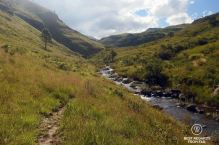 Hiking around Sani Pass, South Africa