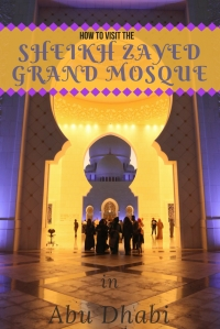 Sheikh Zayed Grand Mosque 1 - Pinterest Pin